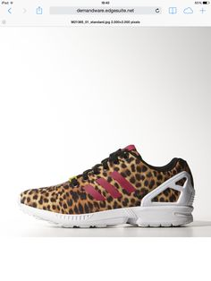 super popular 837a0 a2dbf Adidas Originals Women s ZX 8000 Flux Cheetah Leopard Pink Shoes 9 5