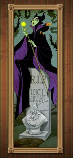 Disney Villains Take on Famous Roles in The Haunted Mansion