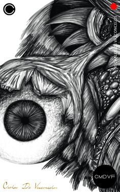 🔴SMBN 0003 - Dibujo Digital.  🔺  #CarlosDeVasconcelos #CMDVF #Ilustración #ArteDigital #Diseño #Arte #Artista #BlancoyNegro #Dibujo / #Illustration #DigitalArt #Design #Art #ArtWork #Artist #BlackAndWhite #bw #bnw #Desenho #Drawing #Ojo #Olho #Eye Illustration, Animation, Abstract, Drawings, Artwork, Pictures, Painting, Image, Eye
