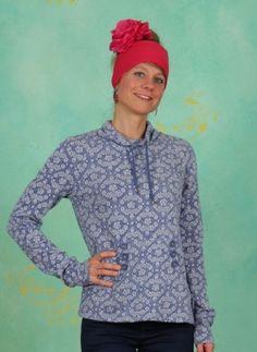 Pullover, Doppelkopf Sweat, icy-blossom