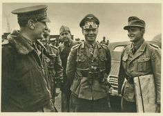 Rommel with Italian staff officers on the front. Rommel's reputation with the Italian allies was very good. The Italians found him always receptive and carefully respectful, something that could not be said about other German senior officers in their relations with Germany's principal ally.