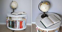 Spool Bookcase