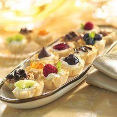 Cheese cake mini tarts