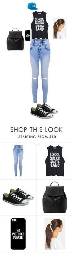 """""""Untitled #6"""" by sara-tadic-1 ❤ liked on Polyvore featuring High Heels Suicide, Converse, MANGO, Casetify, Tasha and Coal"""