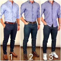 These best casual shirts for men will help you upgrade your wardrobe without breaking the bank. Every man should want to look better. These tips will help. Best Casual Shirts, Best Business Casual Outfits, Business Casual Men, Formal Men Outfit, Semi Formal Outfits, Mens Semi Formal Wear, Mens Casual Dress Outfits, Mode Man, Mens Fashion Wear