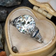 Vintage Engagement Rings   Antique Diamond Rings   EraGem Estate Engagement Ring, Antique Engagement Rings, Engagement Ideas, Antique Diamond Rings, European Cut Diamonds, Ring Verlobung, Love Ring, Unique Rings, Diamond Cuts