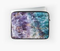 TheQuarry is an independent artist creating amazing designs for great products such as t-shirts, stickers, posters, and phone cases. Purple Quartz, Turquoise And Purple, Blue, Bleu Violet, Its A Mans World, Just For Men, Quartz Crystal, Laptop Sleeves, Art Crafts