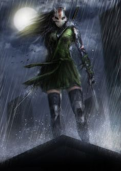 Cheshire (Jade Nguyen) is a fictional character, a antiheroine in the DC Comic universe. Created by Marv Wolfman and George Pérez, she first appeared in New Teen Titans Annual #2 in 1983. Jade was sold into slavery as a child, this trauma drove her insane, and paved her way into becoming one of the world's most ruthless mercenaries. After killing her master Jade became an international terrorist. Often recognized as one of the world's greatest and most ruthless assassins. Her skills include…