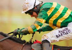 A P McCoy in the drive position.