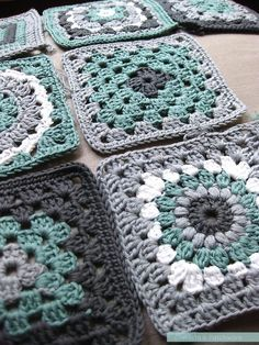 crocheting grannies* on Pinterest | Granny Squares, Crochet ...