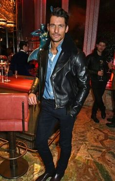 David Gandy attends the launch of the new #MatchlessLondon collection at #SexyFishLondon tonight  || 4/11/15