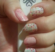 Jamberry Nails - Sunday Brunch and Sorbet