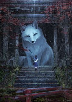 This mysterious Japanese artist that goes by the pseudonym of or Monokubo, on social media channels, creates otherworldly illustrations that breathe life into an entirely new fantasy world where giant animals live alongside humans. Illustration Inspiration, Art And Illustration, Animal Illustrations, Illustrations Posters, Giant Animals, Stuffed Animals, Small Animals, Fantasy Artwork, Mythical Creatures Art
