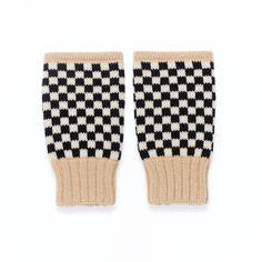 Pulswärmer Bonnie - fingerlose Handschuhe, gestrickt aus Merinowolle |MARGOT & ME