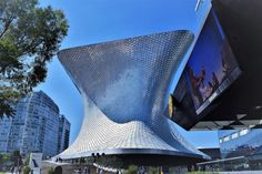Museu Soumaya, Mexico City. Both old and new, Mexico is full of some great architecture.