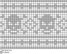 Crochet pattern, but could be used for cross stitch