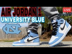 Air Jordan 1 Unc, Sneaker Storage, University Blue, Retro Sneakers, Sneakers Fashion, Air Jordans, Dj, That Look, Entertainment