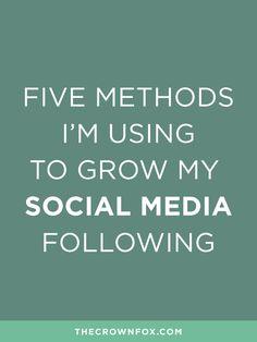 www.TheCrownFox.com | TheCrownFox | Branding + Design | Grow Social Media Following