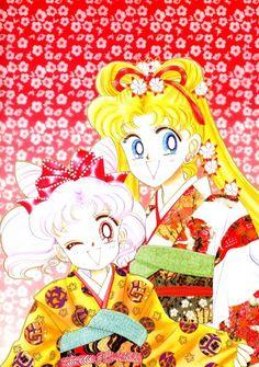 Naoko Takeuchi, Bishoujo Senshi Sailor Moon, Usagi Tsukino, Chibi Usa