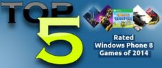 5 Top Rated #WindowsPhone8 Games of 2014