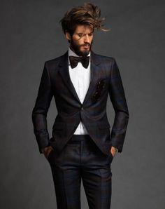 polished #tuxedo look