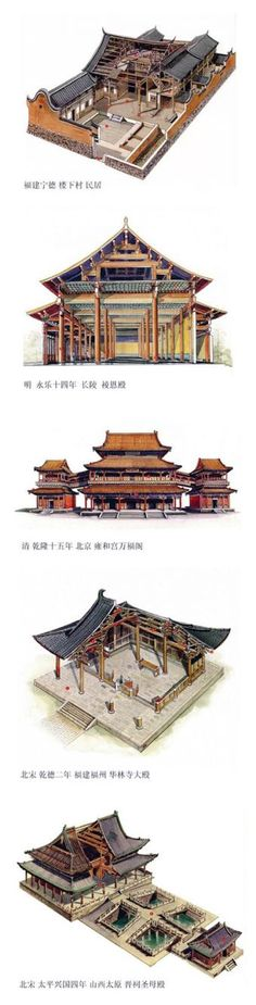 Chinese architecture                                                                                                                                                      More #japanesearchitecture