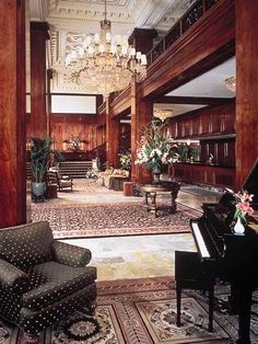 The Benson Hotel in Portland Oregon  This was where we honeymooned - June 16, 1979! Still married <3