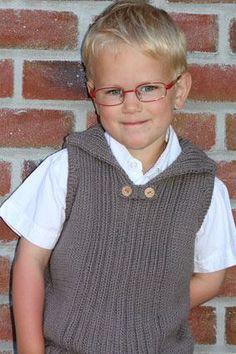 53444339_p Knitting Patterns Boys, Baby Boy Knitting, Knitting For Kids, Knitting Designs, Crochet For Boys, Crochet Baby, Knit Crochet, Kids Poncho, Crochet Vest Pattern