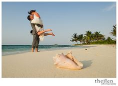 The perfect destination for a beach or island wedding! Voted one of top 10 most romantic destinations in Belize #hatchetcaye