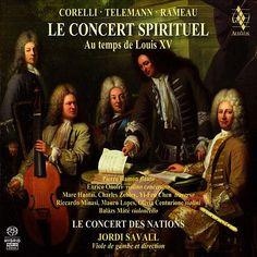 Le Concert Spirituel au temps de Louis XV de Hespèrion XXI