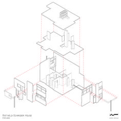 Schroder house model