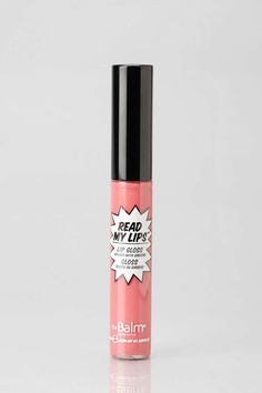 LOVE this color! Great alone or on top of lipstick. Not sticky. ---The Balm Read My Lips Gloss in BAM from BB / .08 oz