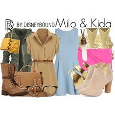 """""""Milo & Kida"""" by leslieakay on Polyvore"""