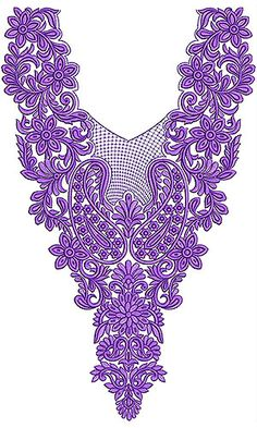Now you can enjoy our Premium Range Embroidery Designs of Neck Embroidery Neck Designs, Couture Embroidery, Silk Ribbon Embroidery, Embroidery Applique, Cross Stitch Embroidery, Embroidery Patterns, Machine Embroidery, Design Of Neck, Tambour Beading