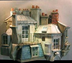 Theatrical inspiration in these --- Miniatures de Jean Jacques Brisson