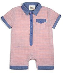 Cool summertime fun will be had for him wearing this linen romper in such patriotic colors.  Matching linen shirt for big brother as well.  What a great family portrait you will have!