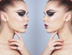 Dagens make-up Archives - Page 49 of 516 - Linda Hallberg Ethereal Makeup, Linda Hallberg, Makeup Inspiration, Pearl Earrings, Make Up, Instagram Posts, Beauty, Jewelry, Berlin