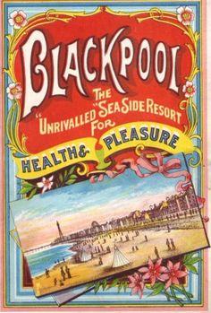 Blackpool Postcards - Vintage postcards, theatre programmes, photographs, medals, badges, etc. associated with Blackpool