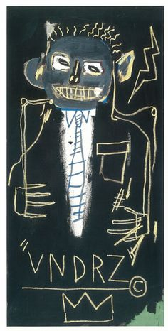 VNDRZ, 1982. Acrylic and oil paintstick on canvas, 59 7/8 x 30 inches (152.1 x…