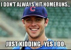 Kris Bryant always does something for the team when their down. Hitting homers is one.