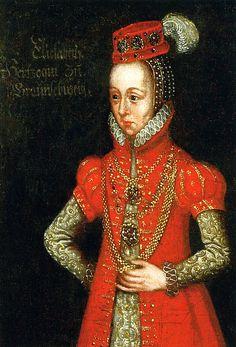 Herzogin Elisabeth zu Braunschweig-Lüneburg - looks like the 1560's to me.