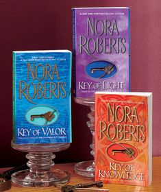 Nora Roberts. LOVED this series.