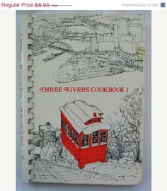 15 OFF Three Rivers Cookbook Vintage Cookbook by TheVintageRead