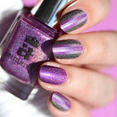 Holo Colorblock Reciprocal Gradient (#wnac2015 March / Holo) | Lacquerstyle.com | kgrdnr
