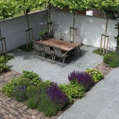 Love the colours and textural combinations. tuinontwerp van biesot.nl | protractedgarden