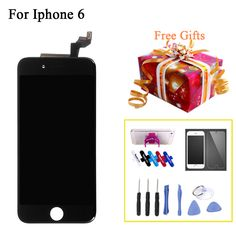 Wholesale LCD Complete Screen Display For iPhone 6 4.7 inch With Touch Screen Digitizer Assembly No Dead Pixel For Iphone6