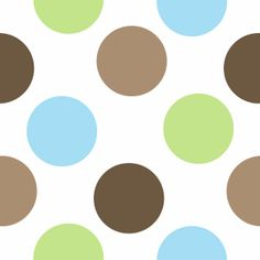 blue+green+background | Brown, Blue, and Green Polka Dot Background - Brown, Blue, and Green ...