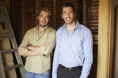 Canadian Hotties: Jonathan and Drew Scott aka the Property Brothers