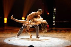"""Top 20 contestants George Lawrence II and Tiffany Maher perform a Contemporary routine to """"Turning Page"""" choreographed by Sonya Tayeh on SO YOU THINK YOU CAN DANCE."""