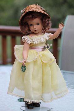 Madame Alexander Margaret Rose 1940's - All Original!! #MadameAlexander #Dolls